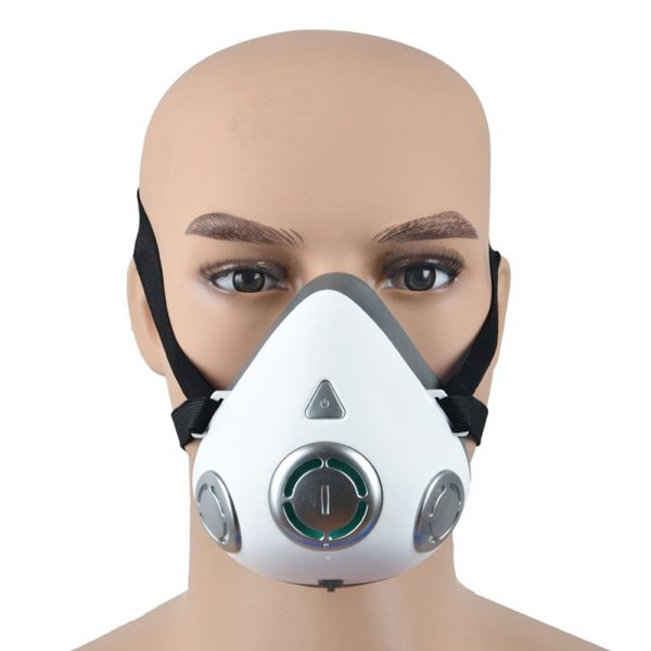 USB Rechargeable Personal Wearable Air Purifier Smart Electric Face Mask_13