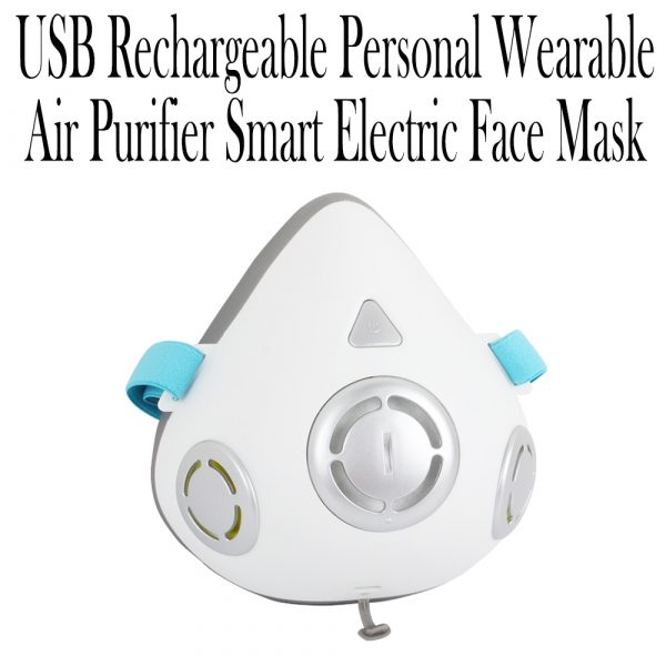 USB Rechargeable Personal Wearable Air Purifier Smart Electric Face Mask_17