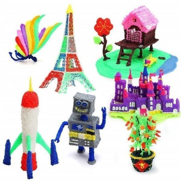 Magic 3D Printing Pen for Kids DIY Pen with LED Display and Filaments_14