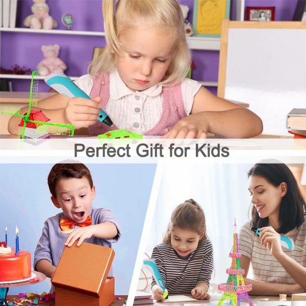 Magic 3D Printing Pen for Kids DIY Pen with LED Display and Filaments_15