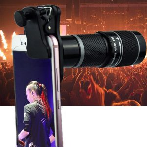 18X Magnification Universal Mobile Phone Lens Adjustable Focus Smart Telephoto Zoom Lens