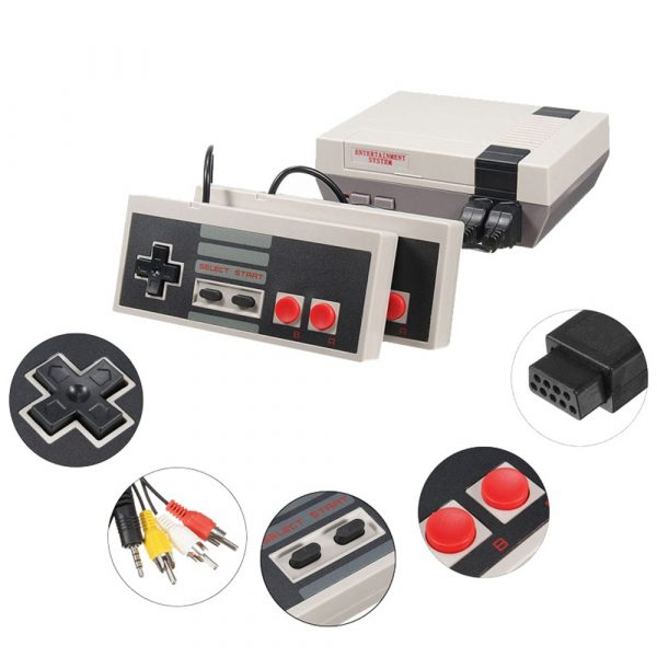 Mini Retro Game Console with Hundreds of Games_4