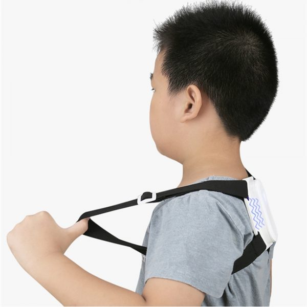 USB Rechargeable Smart Back Posture Corrector for Injury and Back Rehabilitation_1