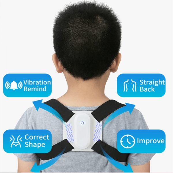 USB Rechargeable Smart Back Posture Corrector for Injury and Back Rehabilitation_11