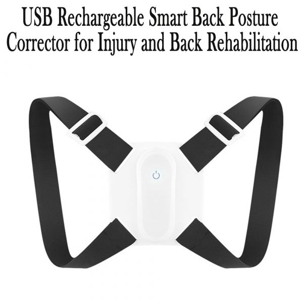 USB Rechargeable Smart Back Posture Corrector for Injury and Back Rehabilitation_12