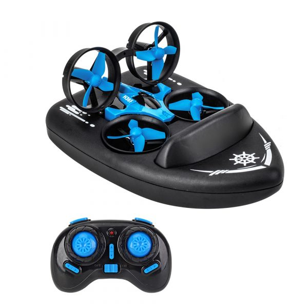 3-in-1 Remote Controlled Toy Drone Hover Glider for Land, Air, and Water_0