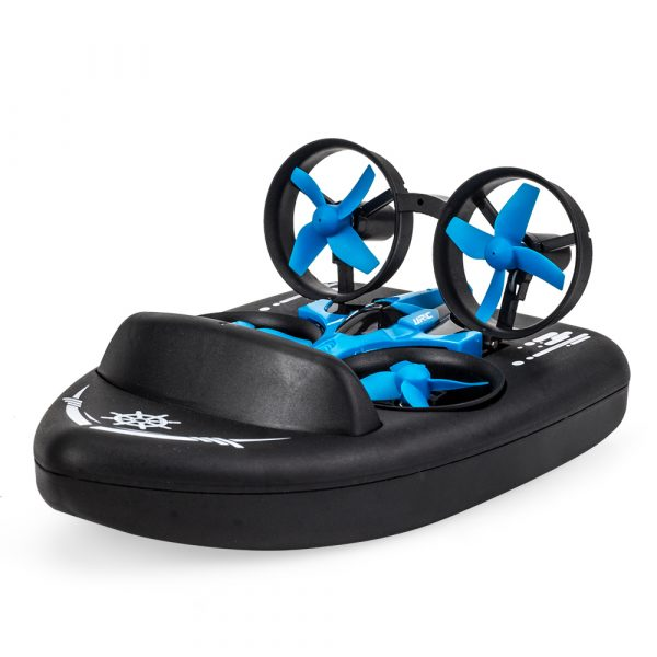3-in-1 Remote Controlled Toy Drone Hover Glider for Land, Air, and Water_3