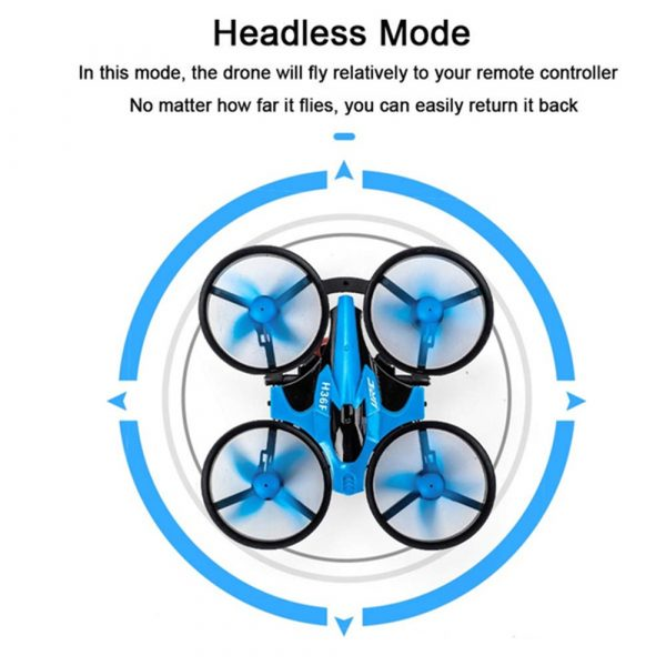 3-in-1 Remote Controlled Toy Drone Hover Glider for Land, Air, and Water_15