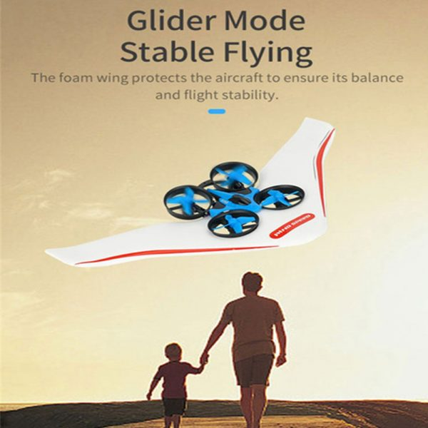 3-in-1 Remote Controlled Toy Drone Hover Glider for Land, Air, and Water_16