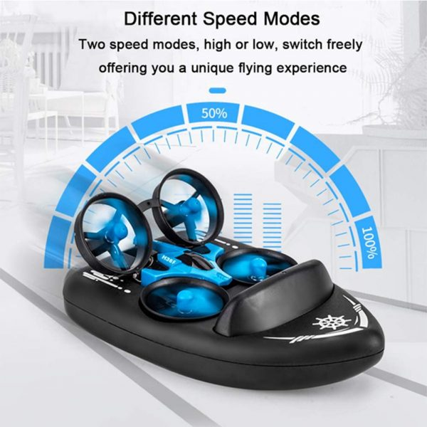 3-in-1 Remote Controlled Toy Drone Hover Glider for Land, Air, and Water_10