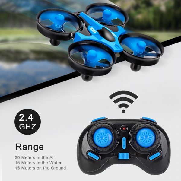 3-in-1 Remote Controlled Toy Drone Hover Glider for Land, Air, and Water_11