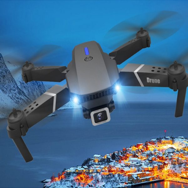 HD Remote Controlled Dual-Lens Folding Aerial Drone 1080P & 4K Resolution_2