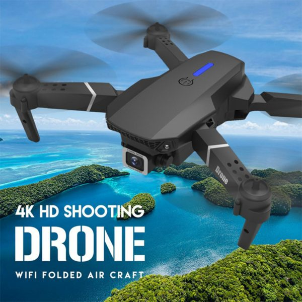 HD Remote Controlled Dual-Lens Folding Aerial Drone 1080P & 4K Resolution_4