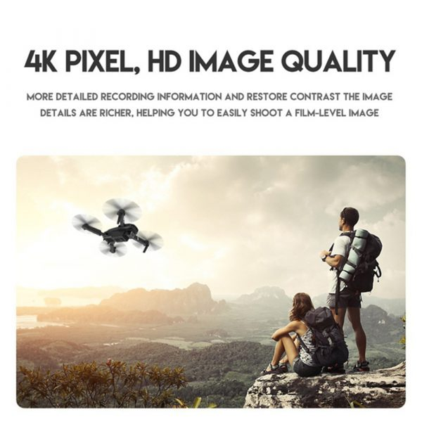 HD Remote Controlled Dual-Lens Folding Aerial Drone 1080P & 4K Resolution_14