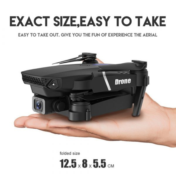 HD Remote Controlled Dual-Lens Folding Aerial Drone 1080P & 4K Resolution_19