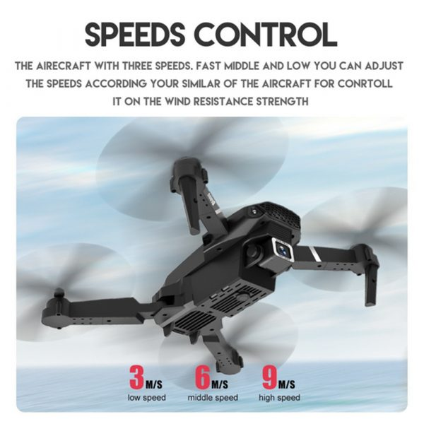HD Remote Controlled Dual-Lens Folding Aerial Drone 1080P & 4K Resolution_6