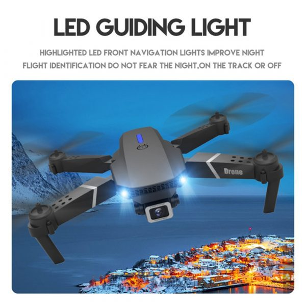 HD Remote Controlled Dual-Lens Folding Aerial Drone 1080P & 4K Resolution_7