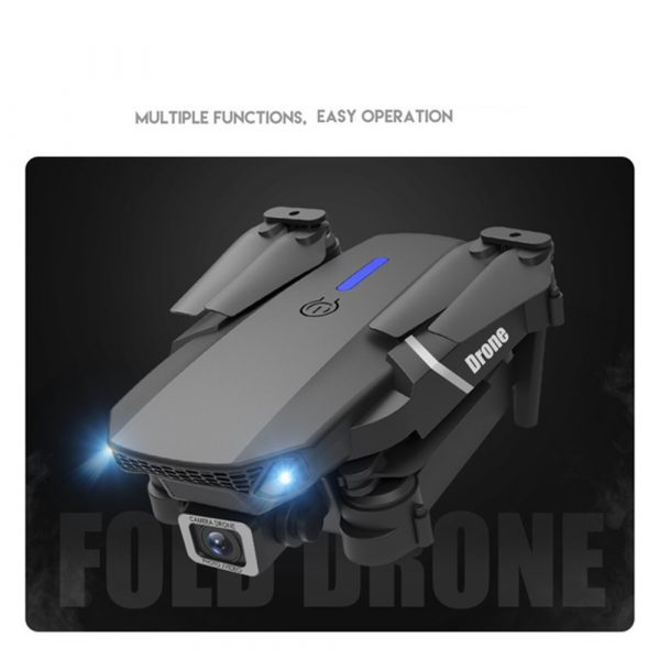 HD Remote Controlled Dual-Lens Folding Aerial Drone 1080P & 4K Resolution_8