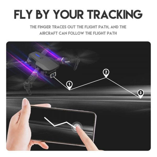 HD Remote Controlled Dual-Lens Folding Aerial Drone 1080P & 4K Resolution_9