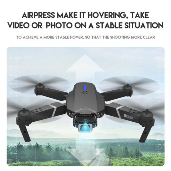 HD Remote Controlled Dual-Lens Folding Aerial Drone 1080P & 4K Resolution_10