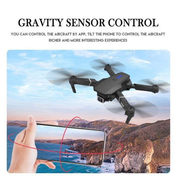 HD Remote Controlled Dual-Lens Folding Aerial Drone 1080P & 4K Resolution_11