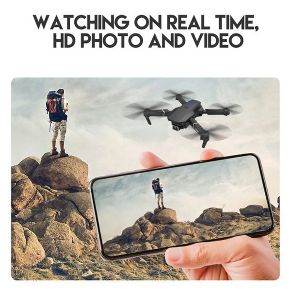 HD Remote Controlled Dual-Lens Folding Aerial Drone 1080P & 4K Resolution_12