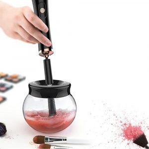 Battery Operated Electric Makeup Brush Cleaner Automatic Brush Washer and Dryer