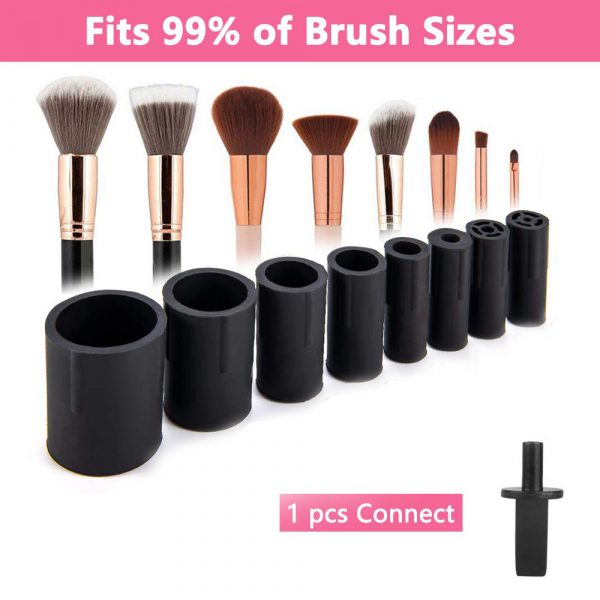 Battery Operated Electric Makeup Brush Cleaner Automatic Brush Washer and Dryer_7