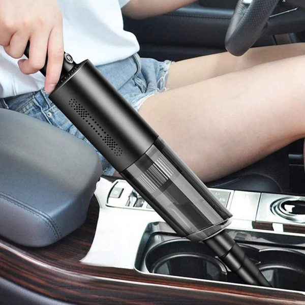 Dual Use High Powered Cordless Portable Handheld Car Home Vacuum Cleaner for Dust and Dirt_3