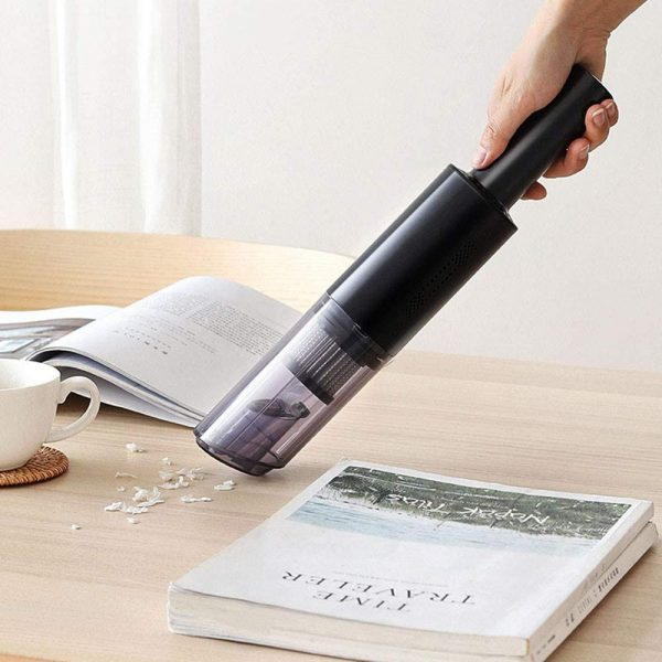 Dual Use High Powered Cordless Portable Handheld Car Home Vacuum Cleaner for Dust and Dirt_4
