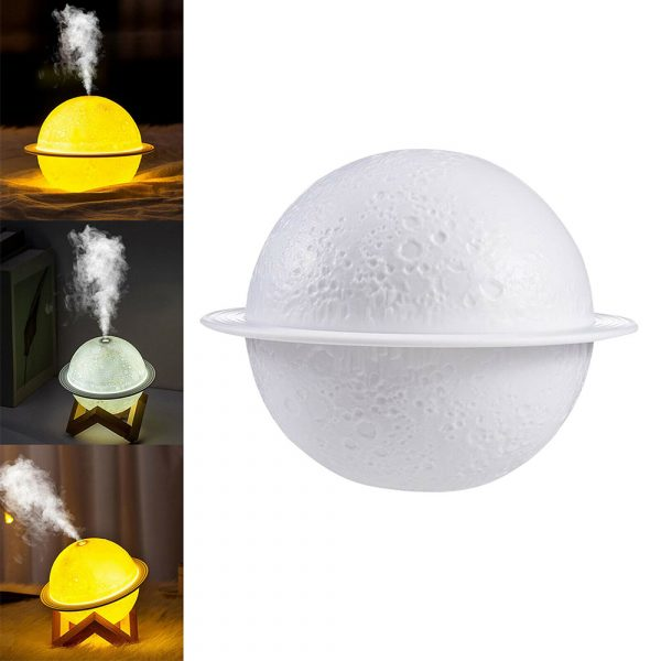 USB Rechargeable 3D Printed Planet Night Lamp and Essential Oil Diffuser for Home and Office_11