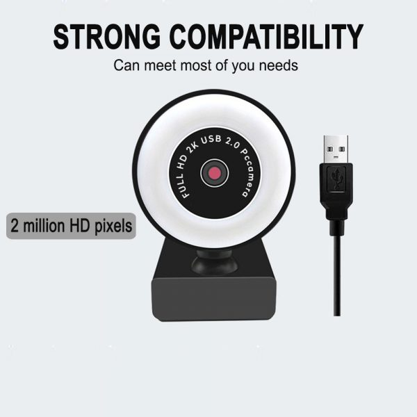 1080P HD Fixed Focus USB Webcam with Microphone for Desktop PC Web Camera_6