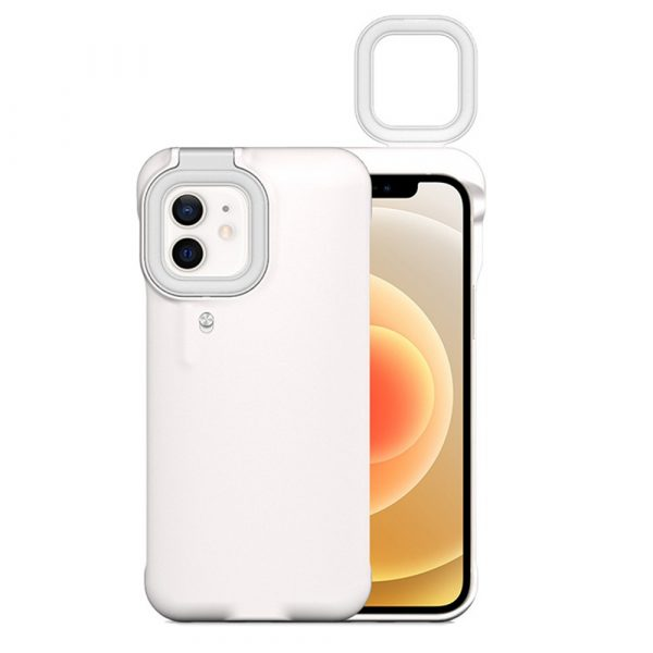 Mobile Phone Protective Phone Case with Fill Light and Reverse Charging Function_0