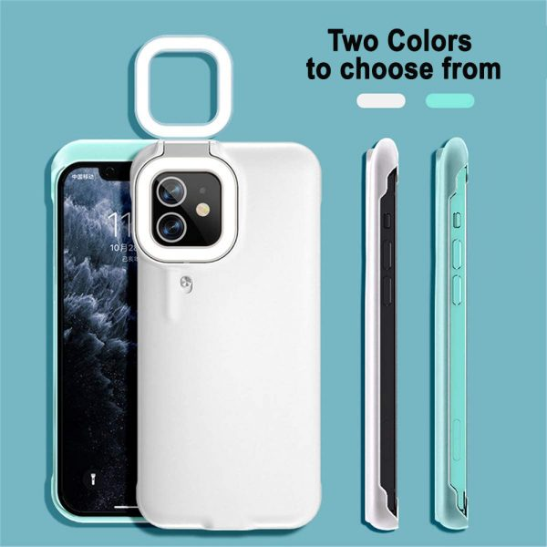 Mobile Phone Protective Phone Case with Fill Light and Reverse Charging Function_8