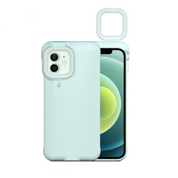 Mobile Phone Protective Phone Case with Fill Light and Reverse Charging Function_4