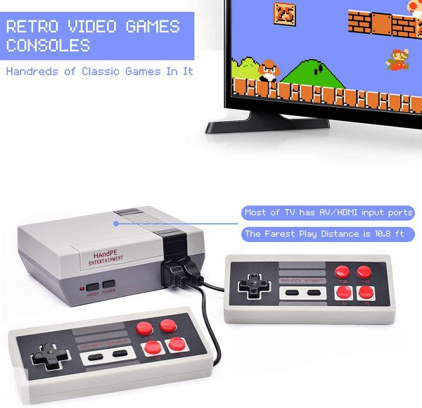 Mini Retro Game Console with Hundreds of Games_6