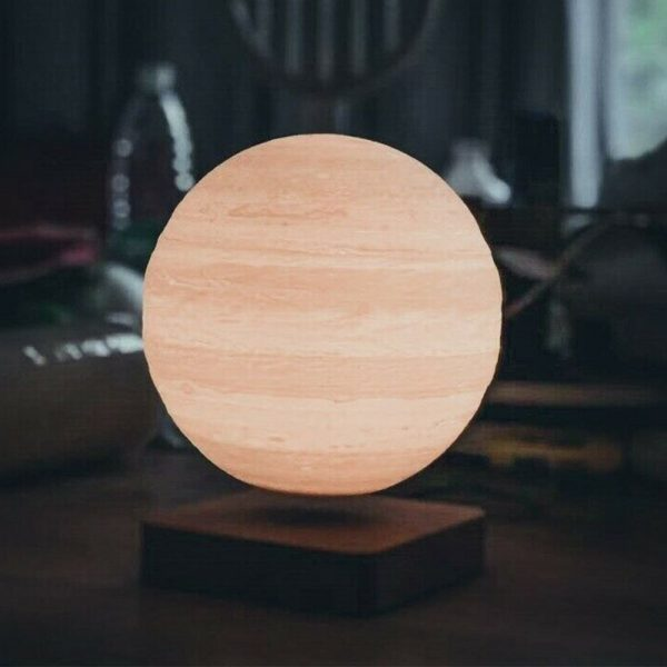 USB Charging 3D Magnetic Levitating LED Touch Night Lamp in Moon, Mars, and Jupiter_3