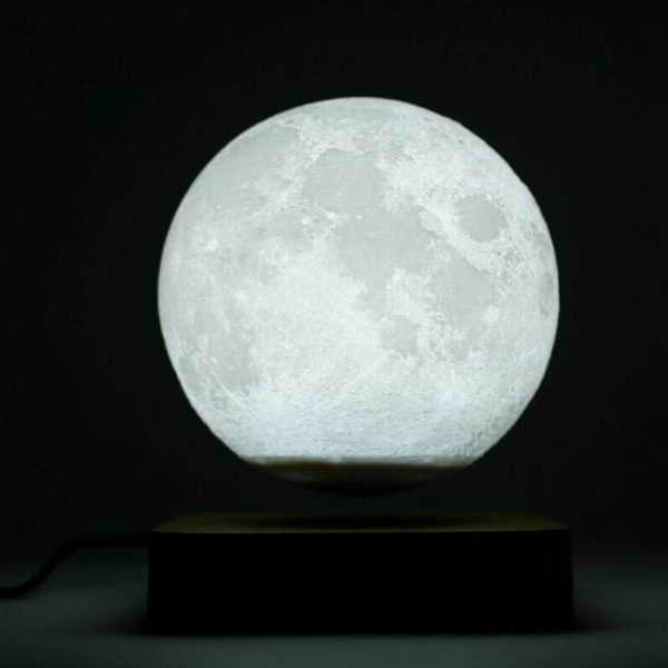 USB Charging 3D Magnetic Levitating LED Touch Night Lamp in Moon, Mars, and Jupiter_5