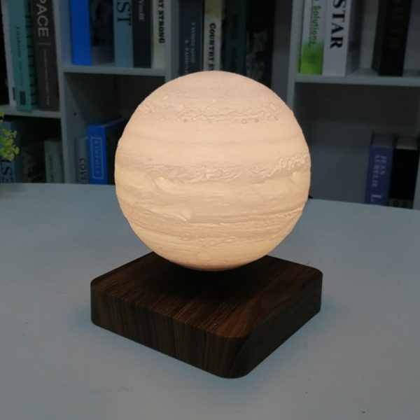 USB Charging 3D Magnetic Levitating LED Touch Night Lamp in Moon, Mars, and Jupiter_9
