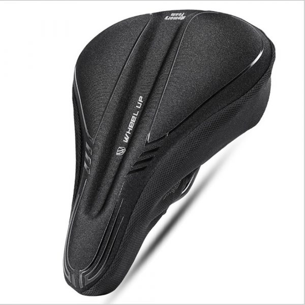 Comfortable MTB Bicycle Saddle Cover with Memory Foam Pad Bike Accessories Seat Cover_0