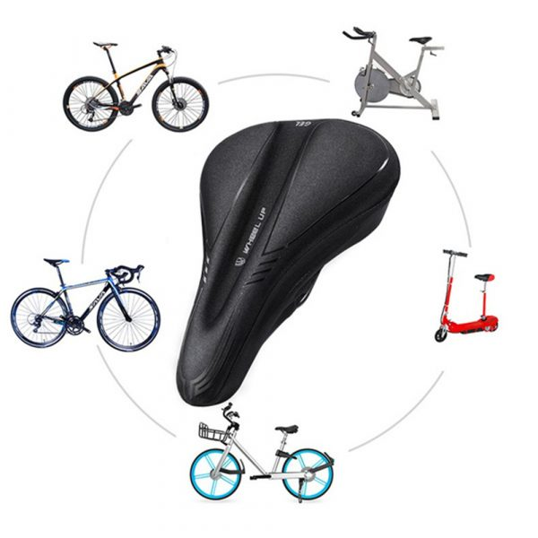 Comfortable MTB Bicycle Saddle Cover with Memory Foam Pad Bike Accessories Seat Cover_11