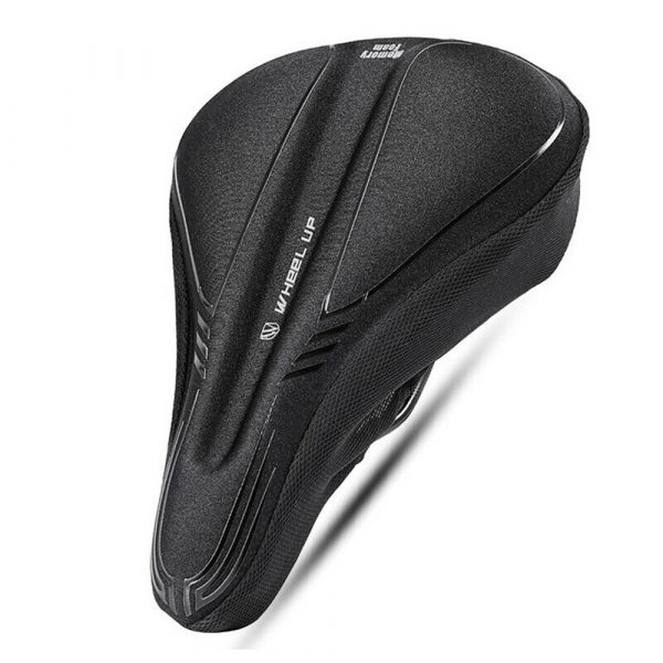 Comfortable MTB Bicycle Saddle Cover with Memory Foam Pad Bike Accessories Seat Cover_5