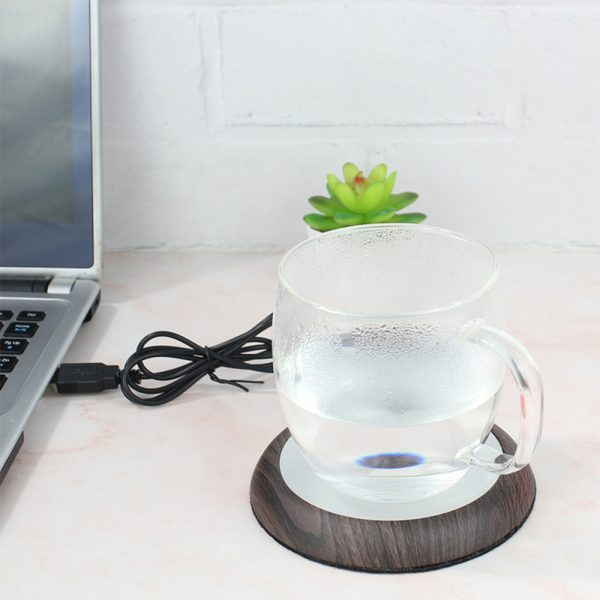 USB Powered Coffee and Beverage Cup Warmer suitable for Mugs and Cans_3