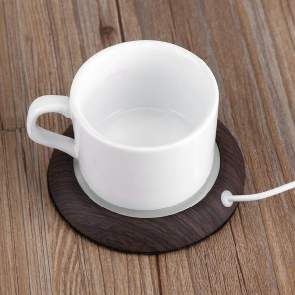 USB Powered Coffee and Beverage Cup Warmer suitable for Mugs and Cans_5