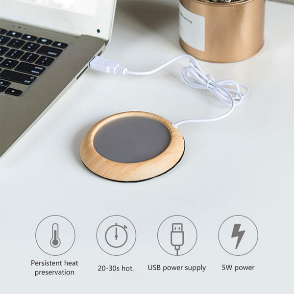 USB Powered Coffee and Beverage Cup Warmer suitable for Mugs and Cans_12