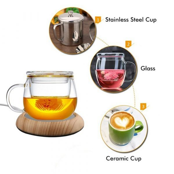 USB Powered Coffee and Beverage Cup Warmer suitable for Mugs and Cans_15