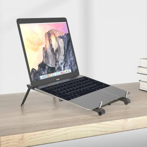 3-in-1 Multi-Function Folding Rack Bracket for Laptop Tablet and Phone Stand Holder
