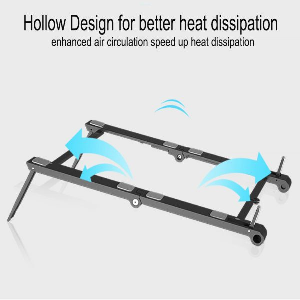 3-in-1 Multi-Function Folding Rack Bracket for Laptop Tablet and Phone Stand Holder_2