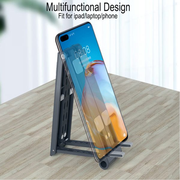 3-in-1 Multi-Function Folding Rack Bracket for Laptop Tablet and Phone Stand Holder_3
