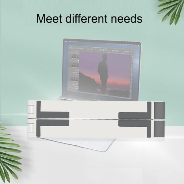 3-in-1 Multi-Function Folding Rack Bracket for Laptop Tablet and Phone Stand Holder_9